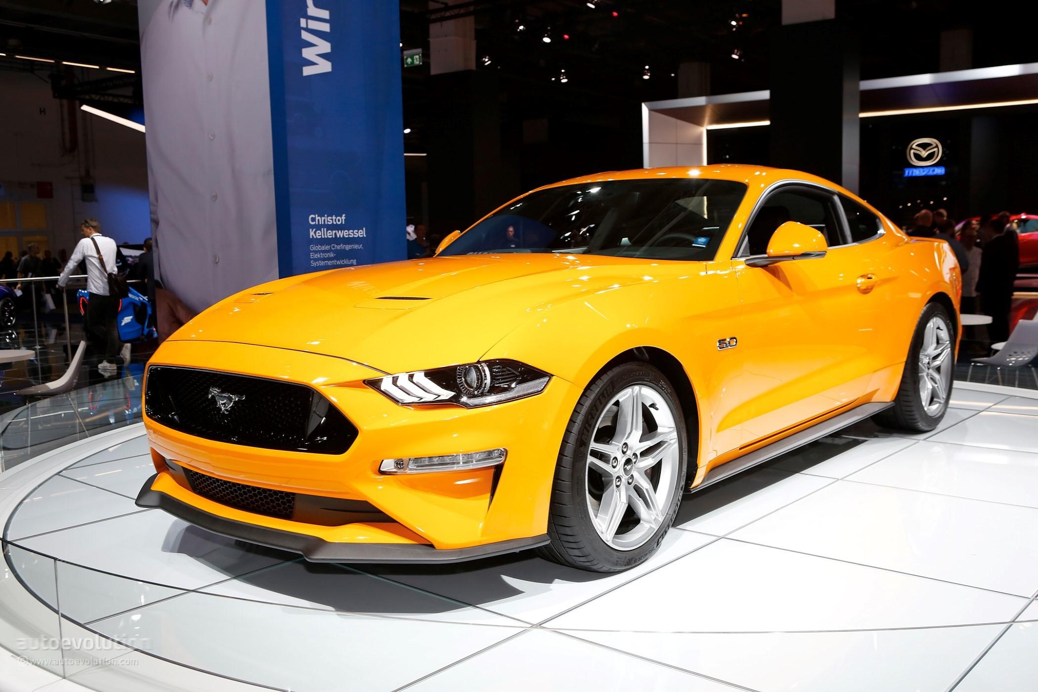 2018 Ford Mustang Facelift European Model