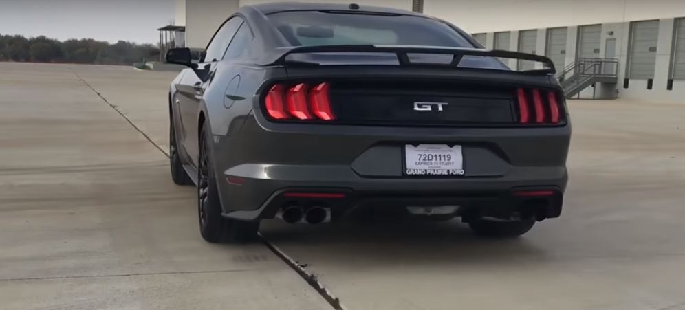 2018 Ford Mustang Gt 0 60 Mph Test