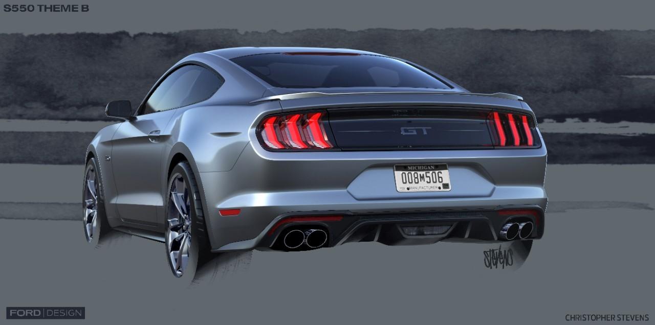 Ford Mustang Facelift  Ford Mustang Facelift