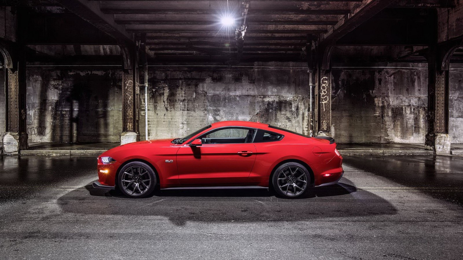 2018 ford mustang gt performance pack level 2
