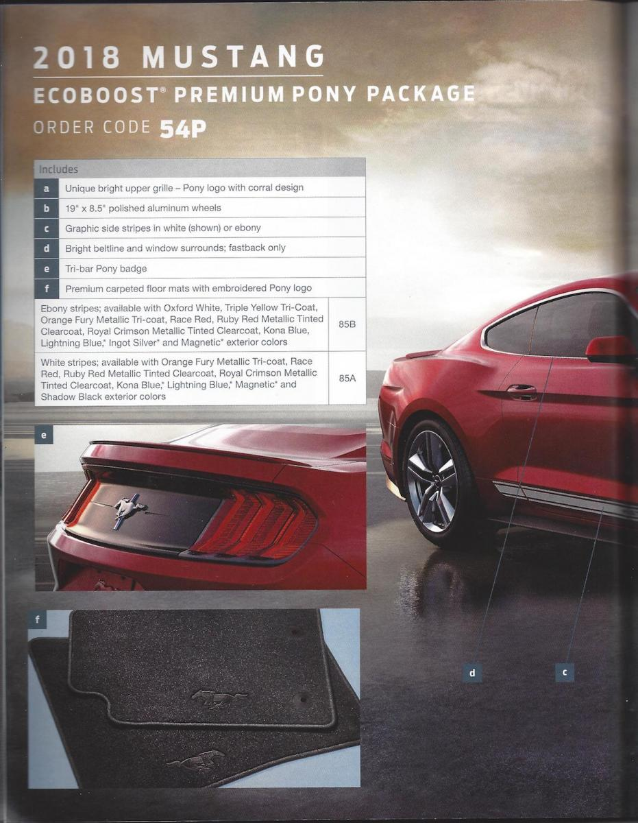 2018 ford order guide. simple ford 2018 ford mustang order guide companion   with ford