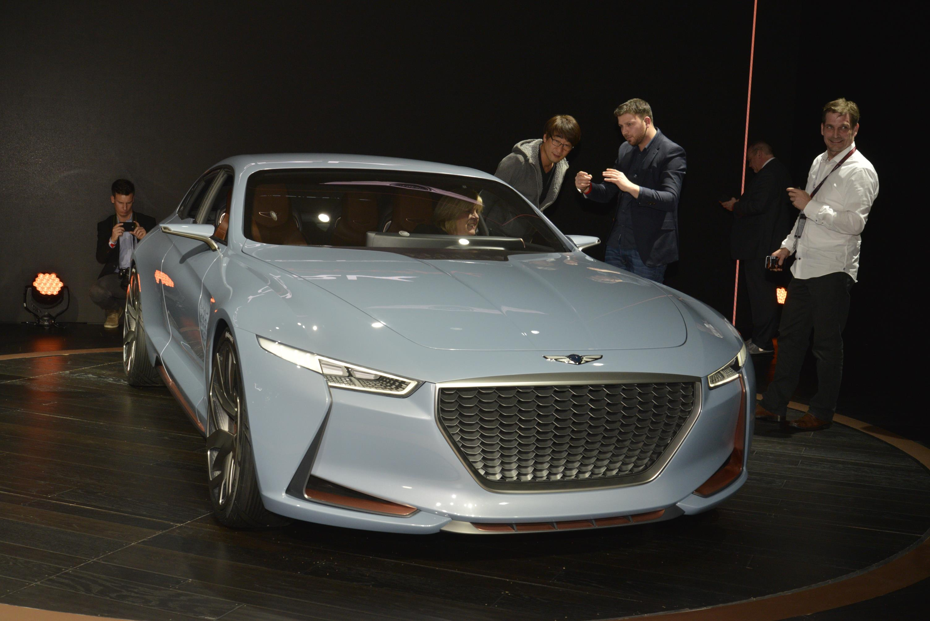 2018 genesis models. simple genesis genesis new york concept preview for the 2018 g70 and genesis models autoevolution