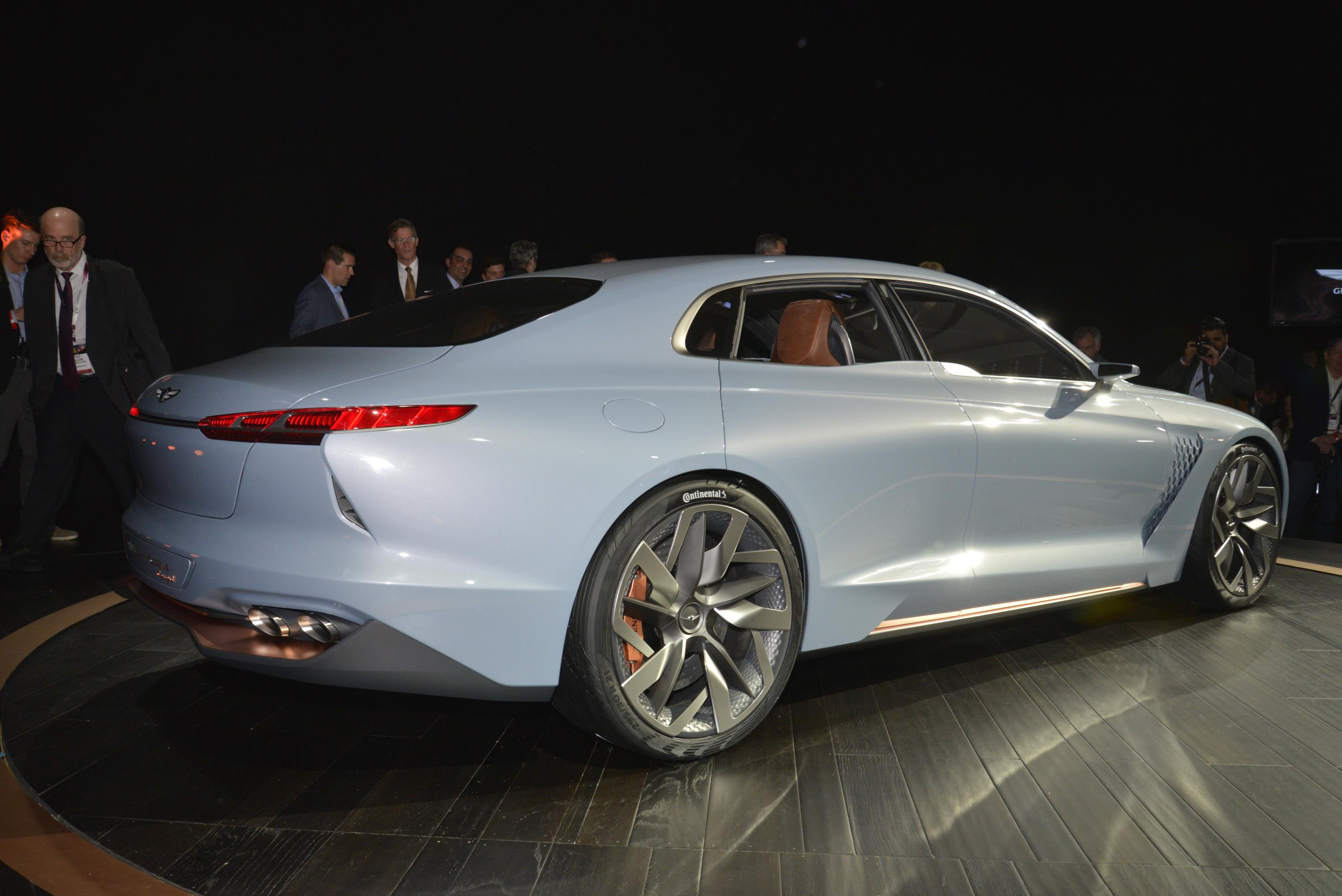 2018 genesis g70 sedan previewed by genesis new york concept autoevolution