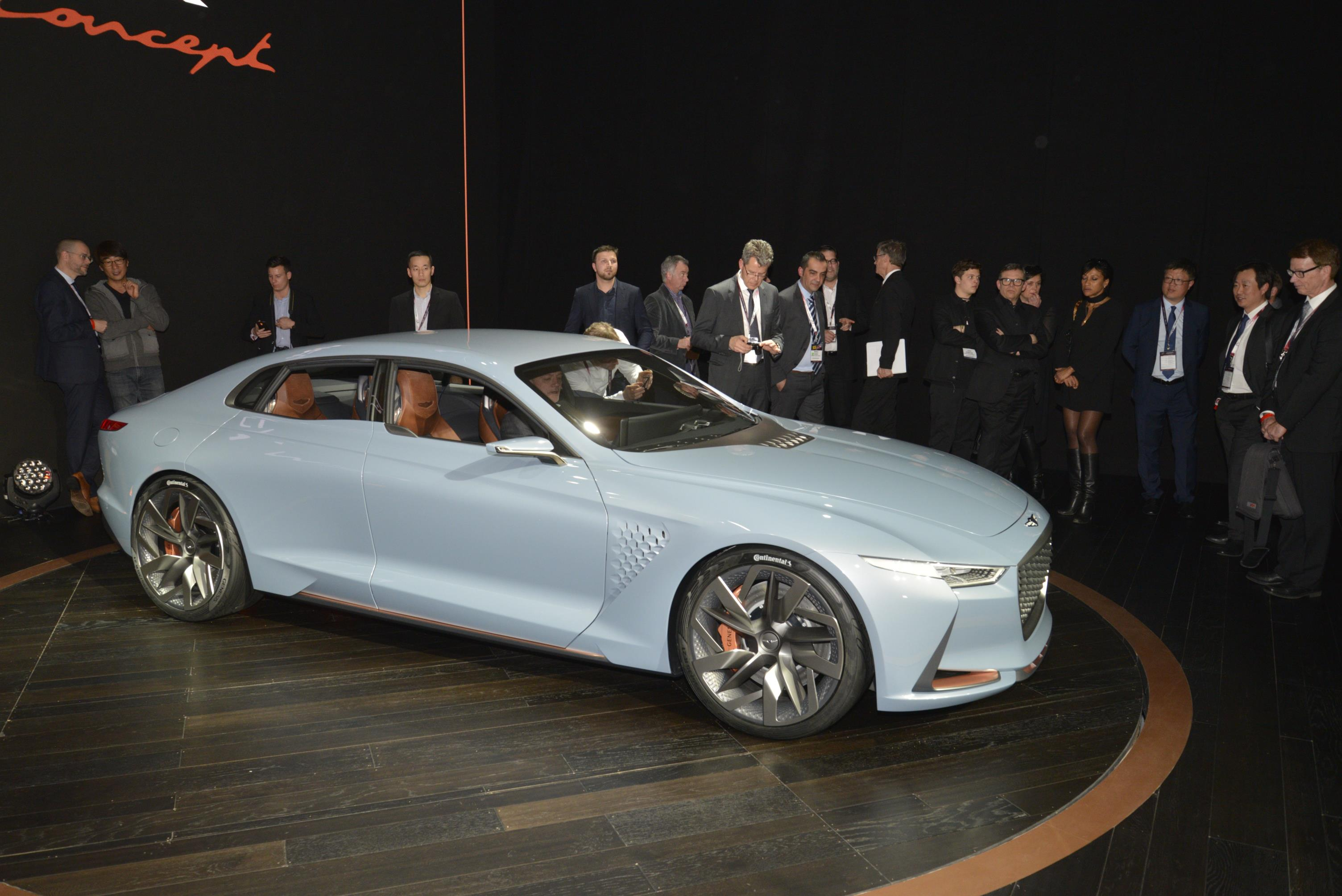 2018 Genesis G70 Sedan Previewed By Genesis New York