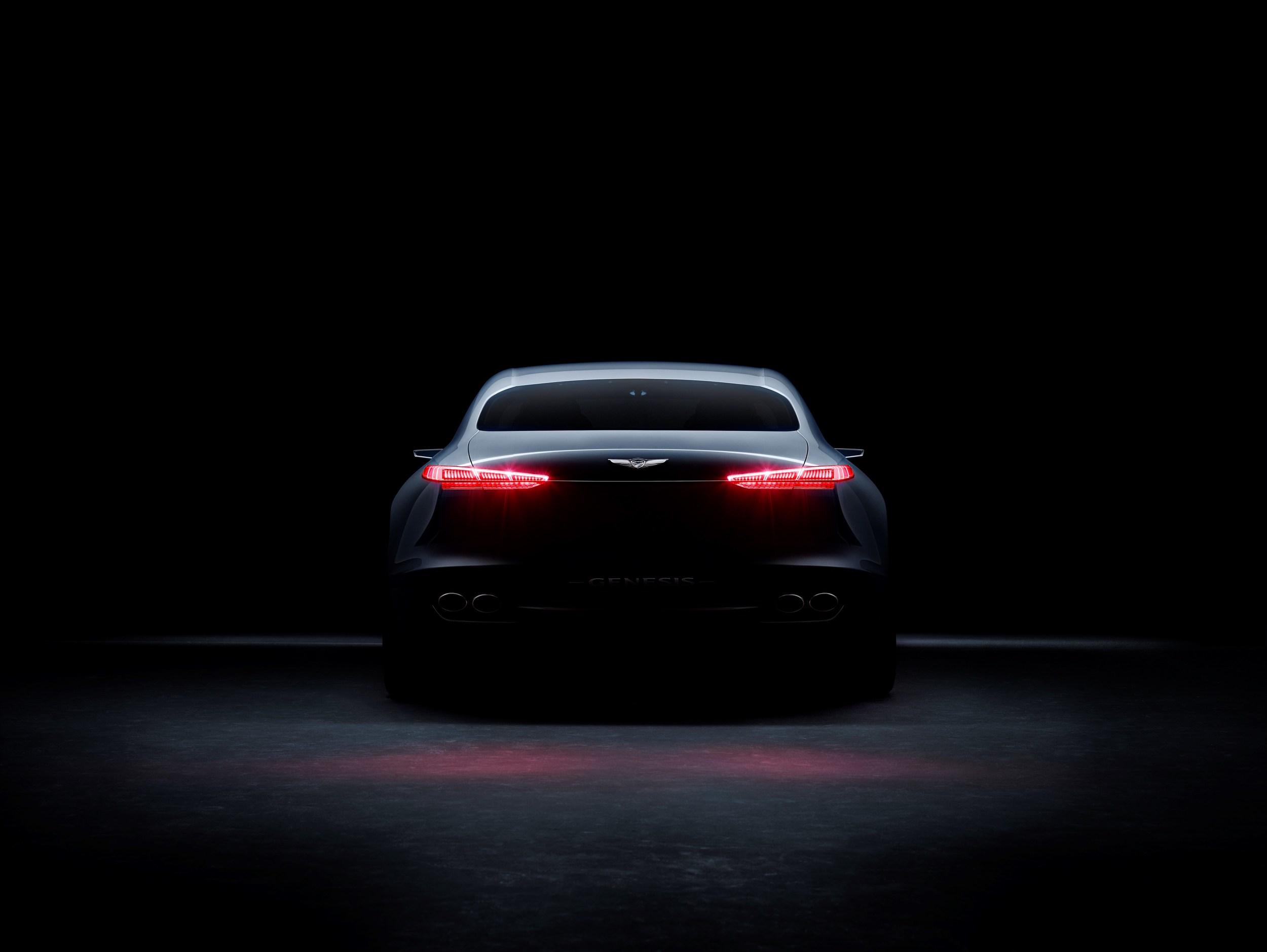 2018 Genesis G70 Sedan Previewed by Genesis New York ...