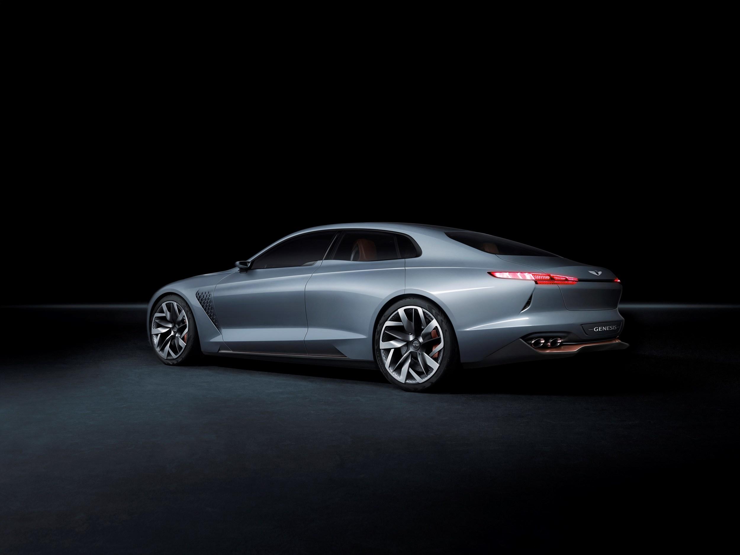 2018 Genesis G70 Sedan Previewed By Genesis New York Concept Autoevolution