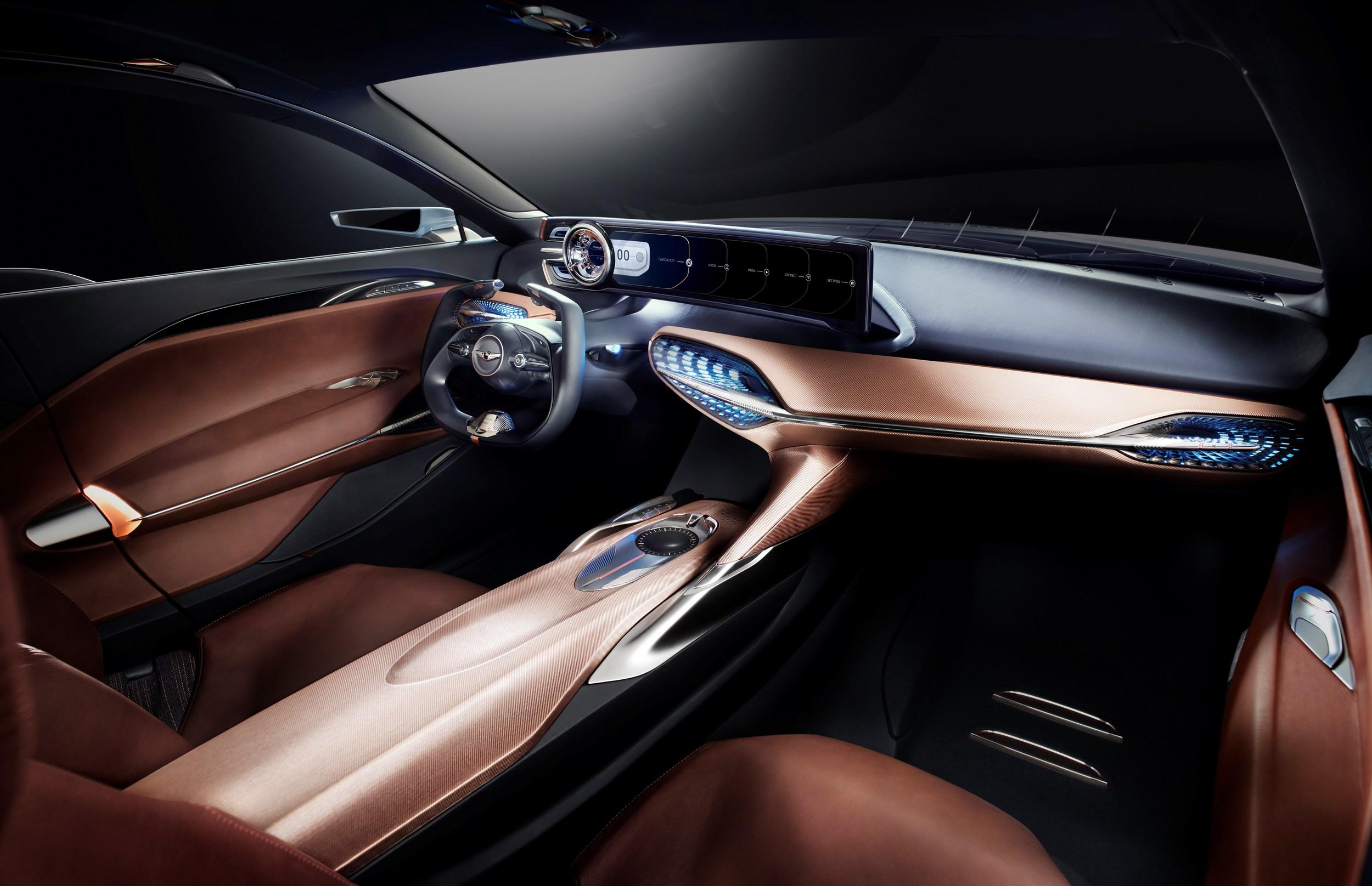 2018 Genesis G70 Sedan Previewed by Genesis New York Concept ...