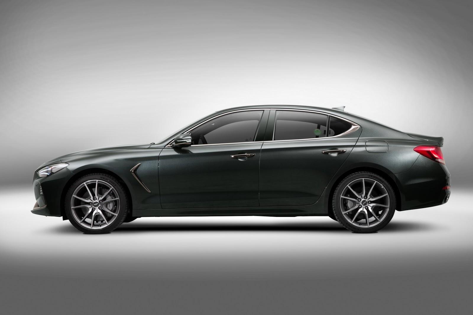 2018 Genesis G70 Sports Sedan Goes Official Looks Fairly