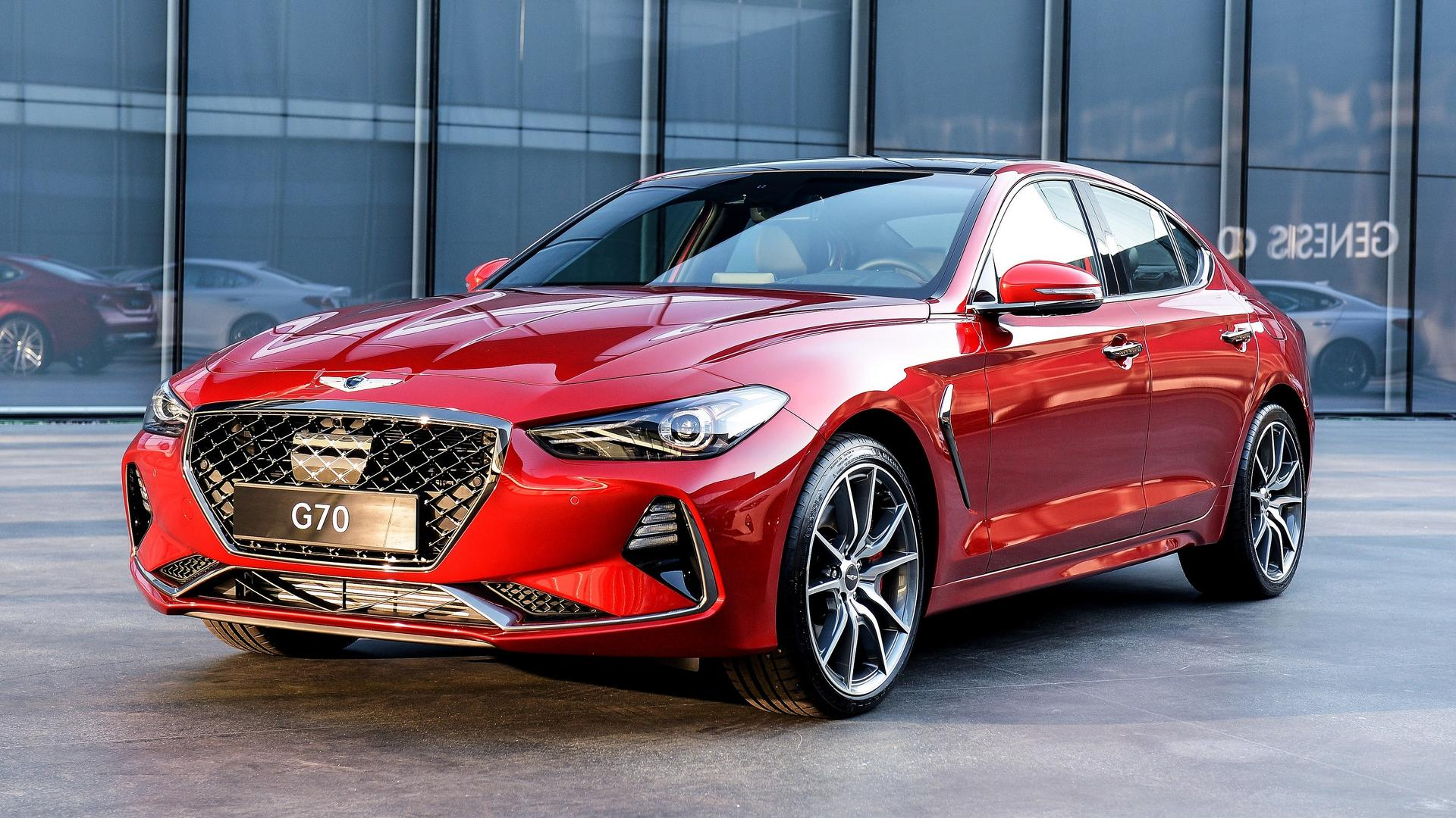 2018 genesis g70 sports sedan goes official looks fairly premium autoevolution. Black Bedroom Furniture Sets. Home Design Ideas