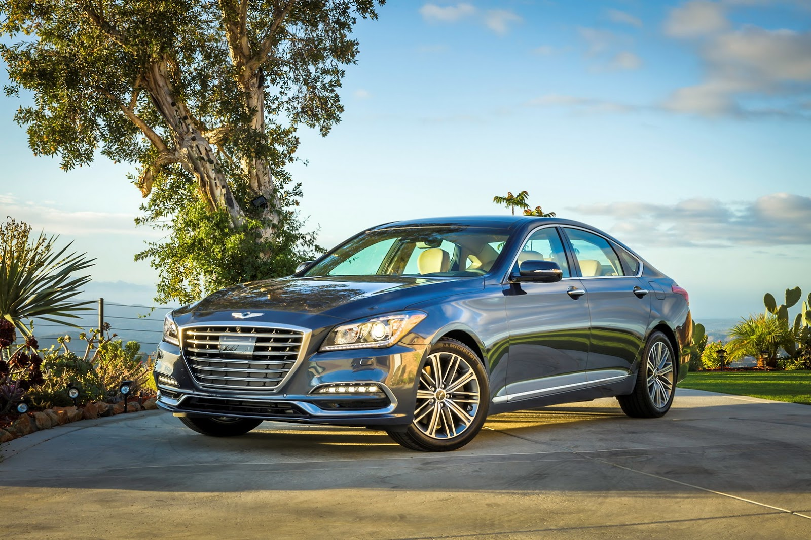 2018 genesis g80 sport priced from 55 250 autoevolution. Black Bedroom Furniture Sets. Home Design Ideas