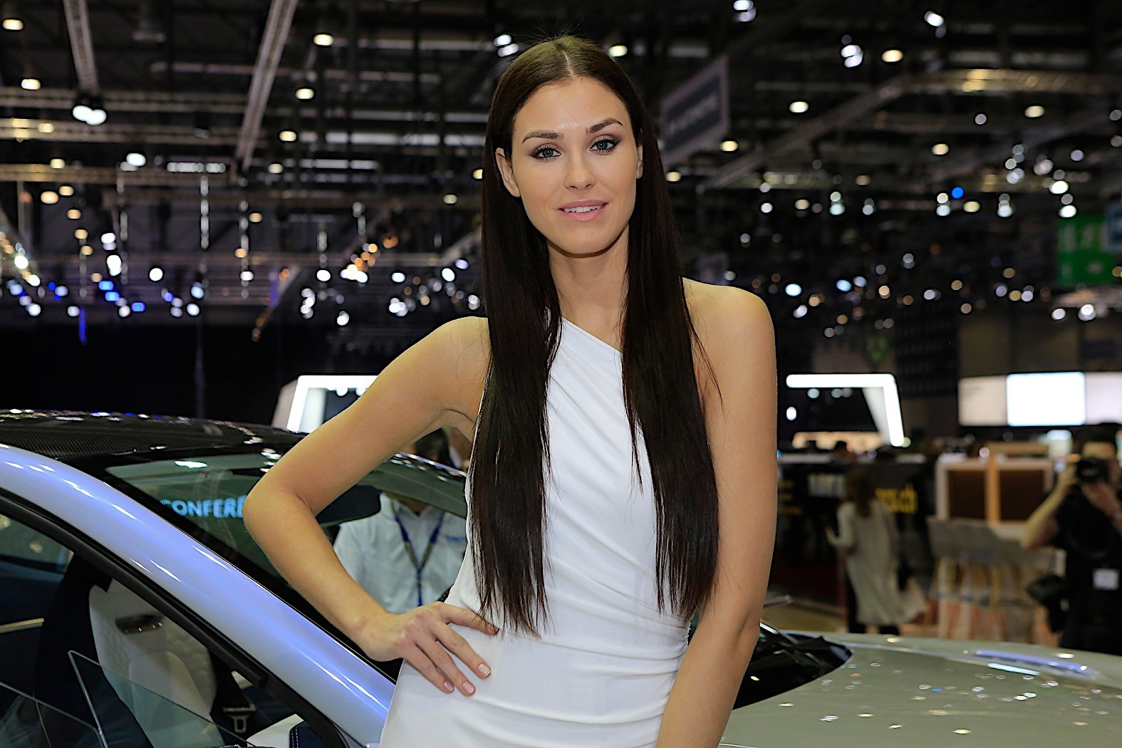 2018 Geneva Motor Show Booth Girls Survive the Pointless ...