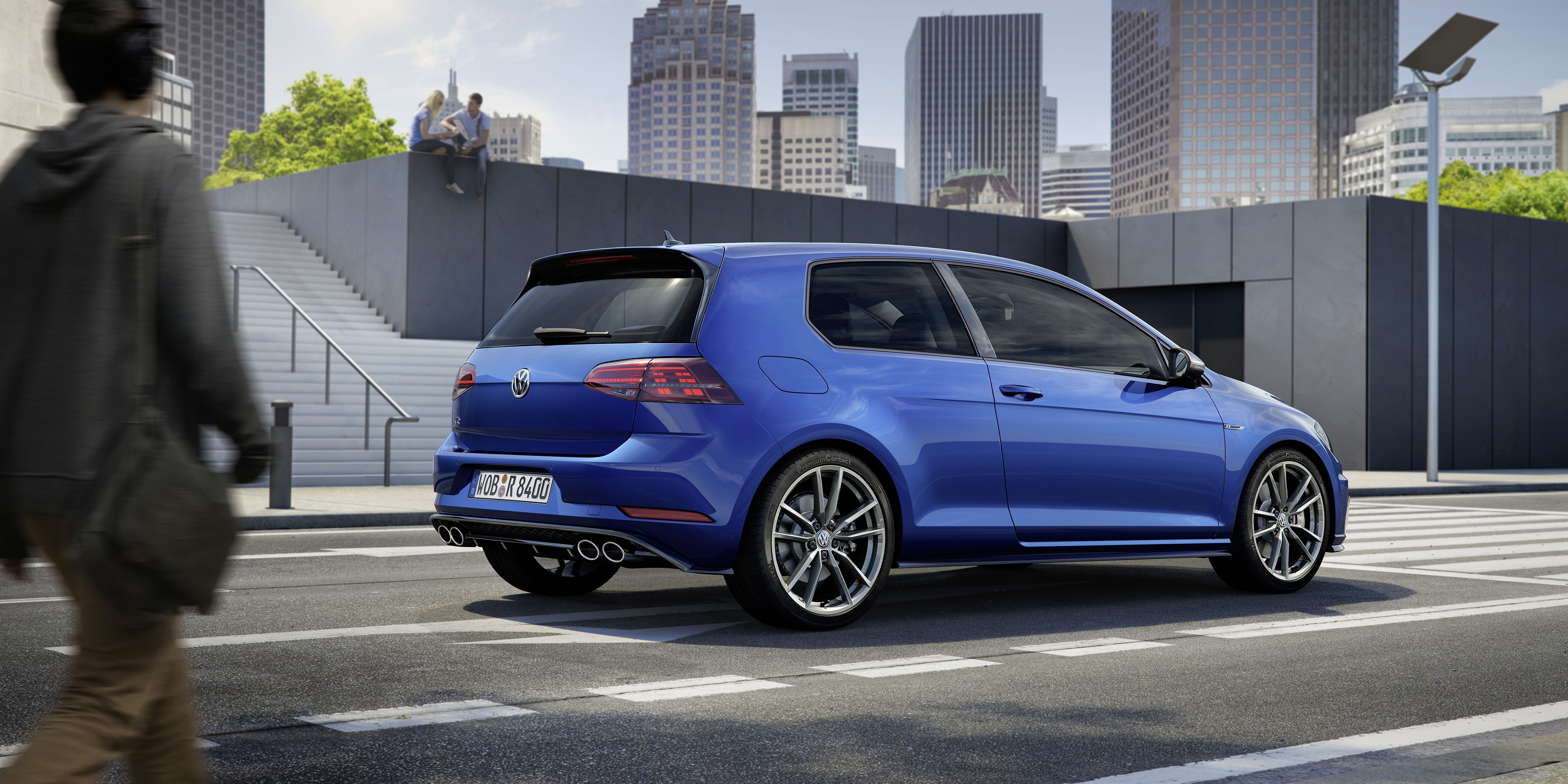 Volkswagen Reveals 2017 Golf R With 310 Hp Costs 40 675 Available As Variant