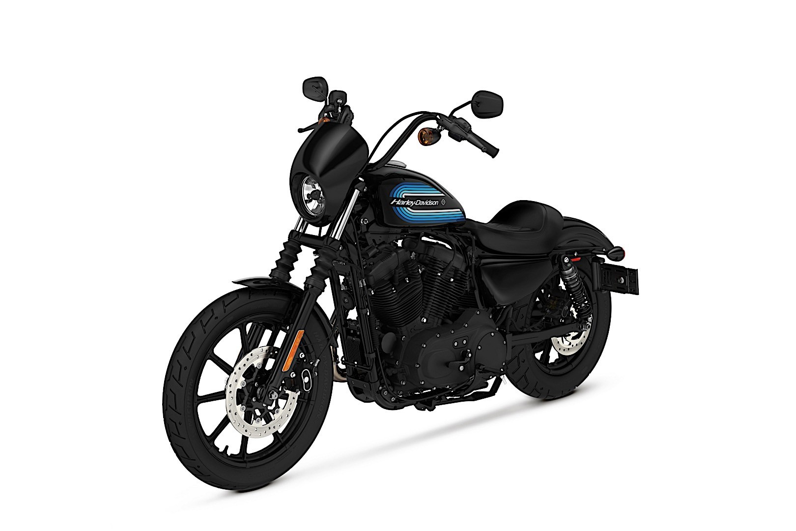 new harley davidson forty eight special and iron 1200 sportster look hot as hell autoevolution. Black Bedroom Furniture Sets. Home Design Ideas