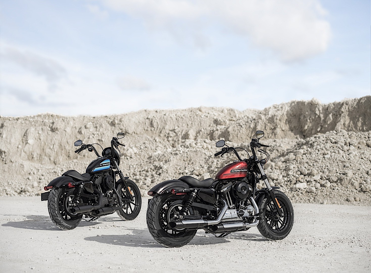 New Harley-Davidson Forty-Eight Special and Iron 1200 ...
