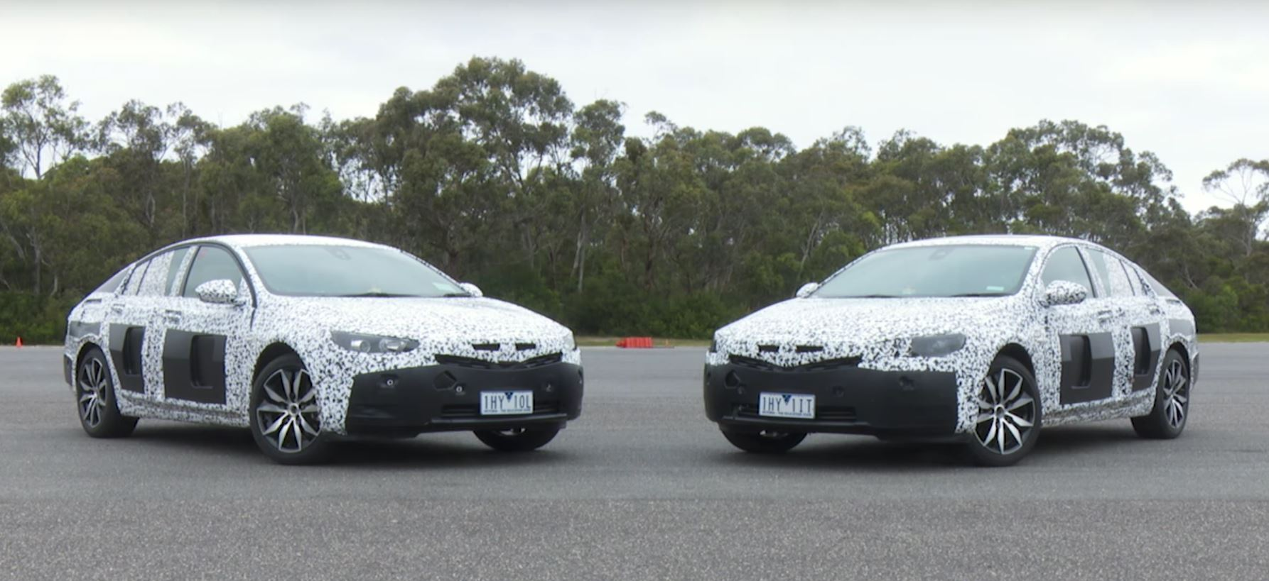 Beautiful 2018 Holden Commodore Opel Insignia B Prototypes Tested In Australia