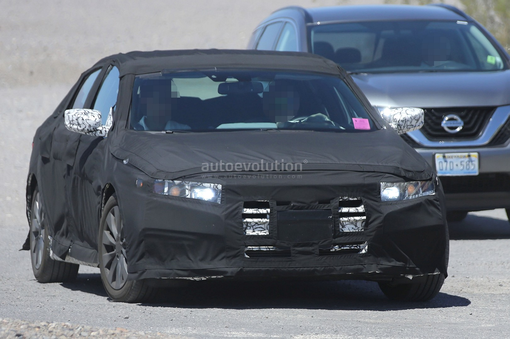 2018 honda accord interior. plain honda 2018 honda accord spied for the first time partially reveals interior  and honda accord interior i