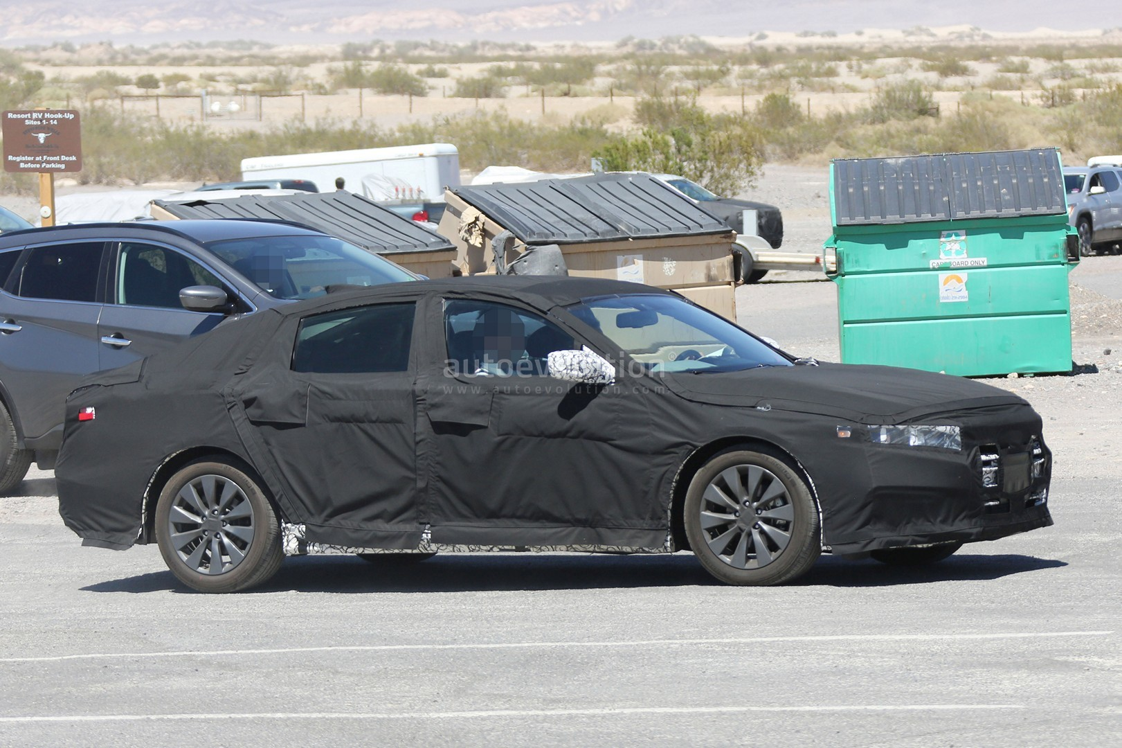 2018 Honda Accord Spied for the First Time, Partially Reveals Interior ...