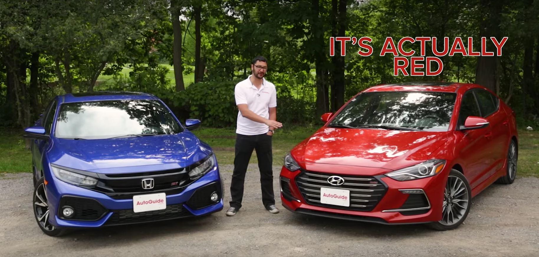2018 Honda Civic Si Vs Hyundai Elantra Sport Which Is The Best
