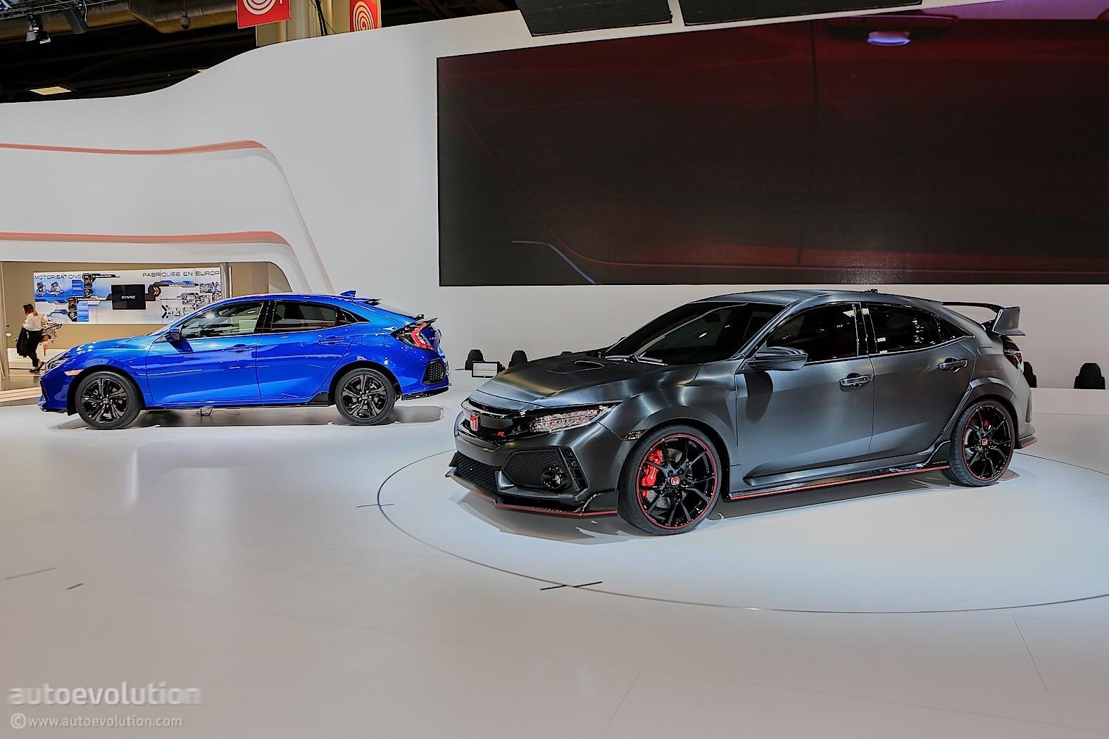 2018 Honda Civic Type R Flies on Nurburgring ahead of US Debut ...
