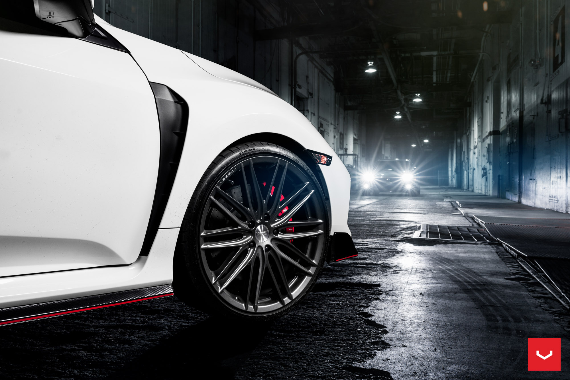 2018 Honda Civic Type R Twins Get Vossen Hybrid Forged ...