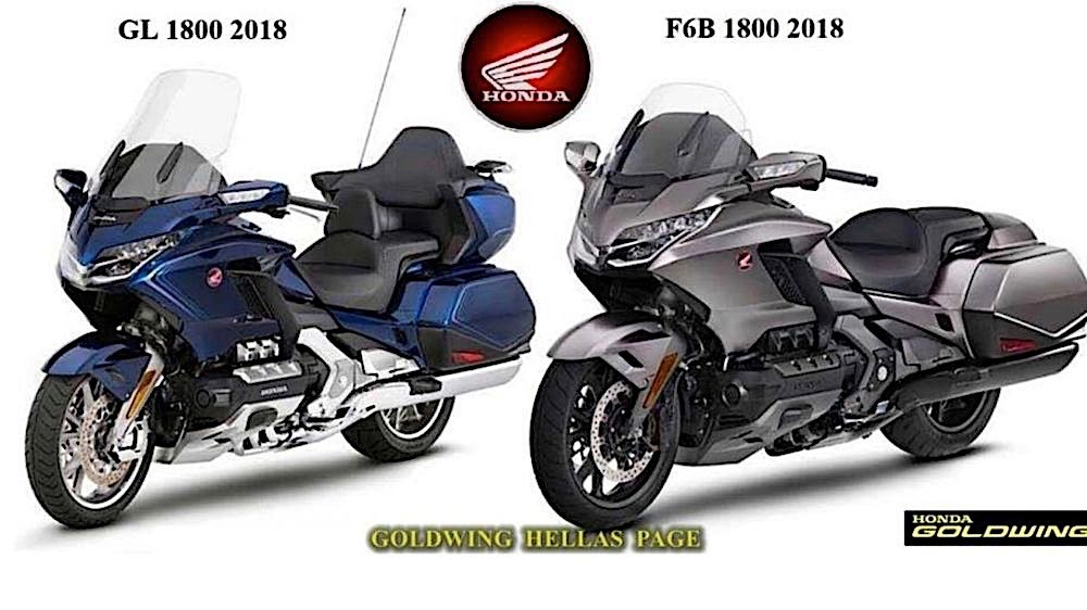 Leaked: 2018 Honda Gold Wing Looks Production-Ready ...