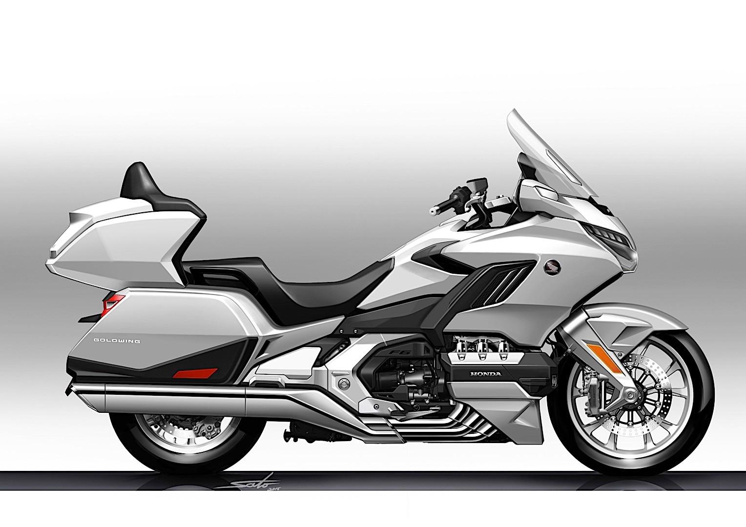 2018 Honda Valkyrie >> 2018 Honda Gold Wing Officially Revealed With Sharper Design - autoevolution