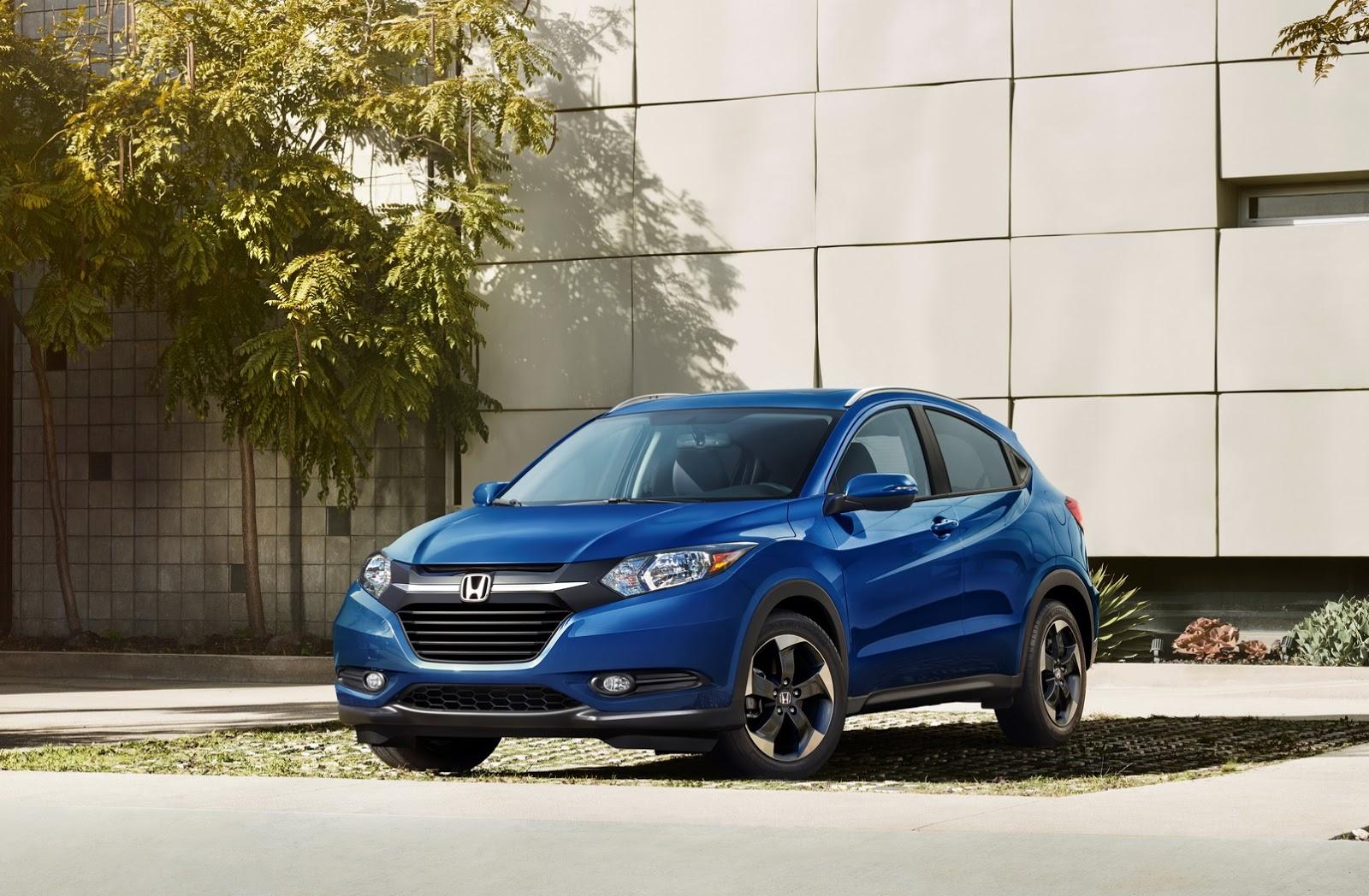2018 Honda HR-V Gets Small Price Bump, New Exterior Color And Wheel Design - autoevolution