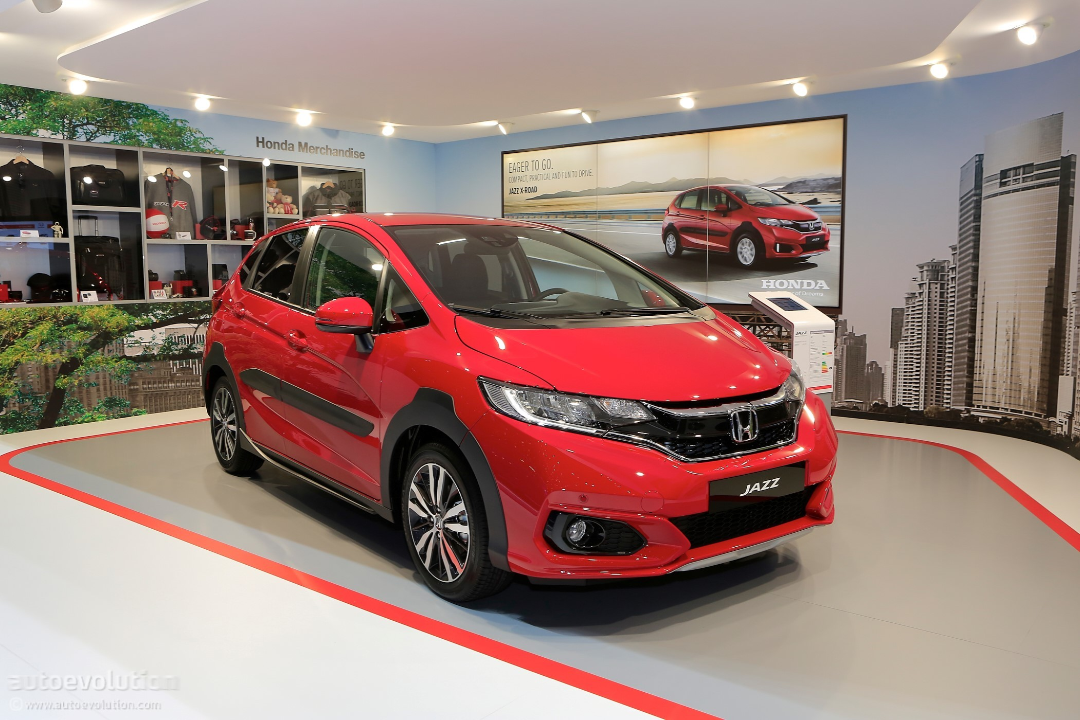 2018 Honda Jazz X Road Live At Geneva Motor Show