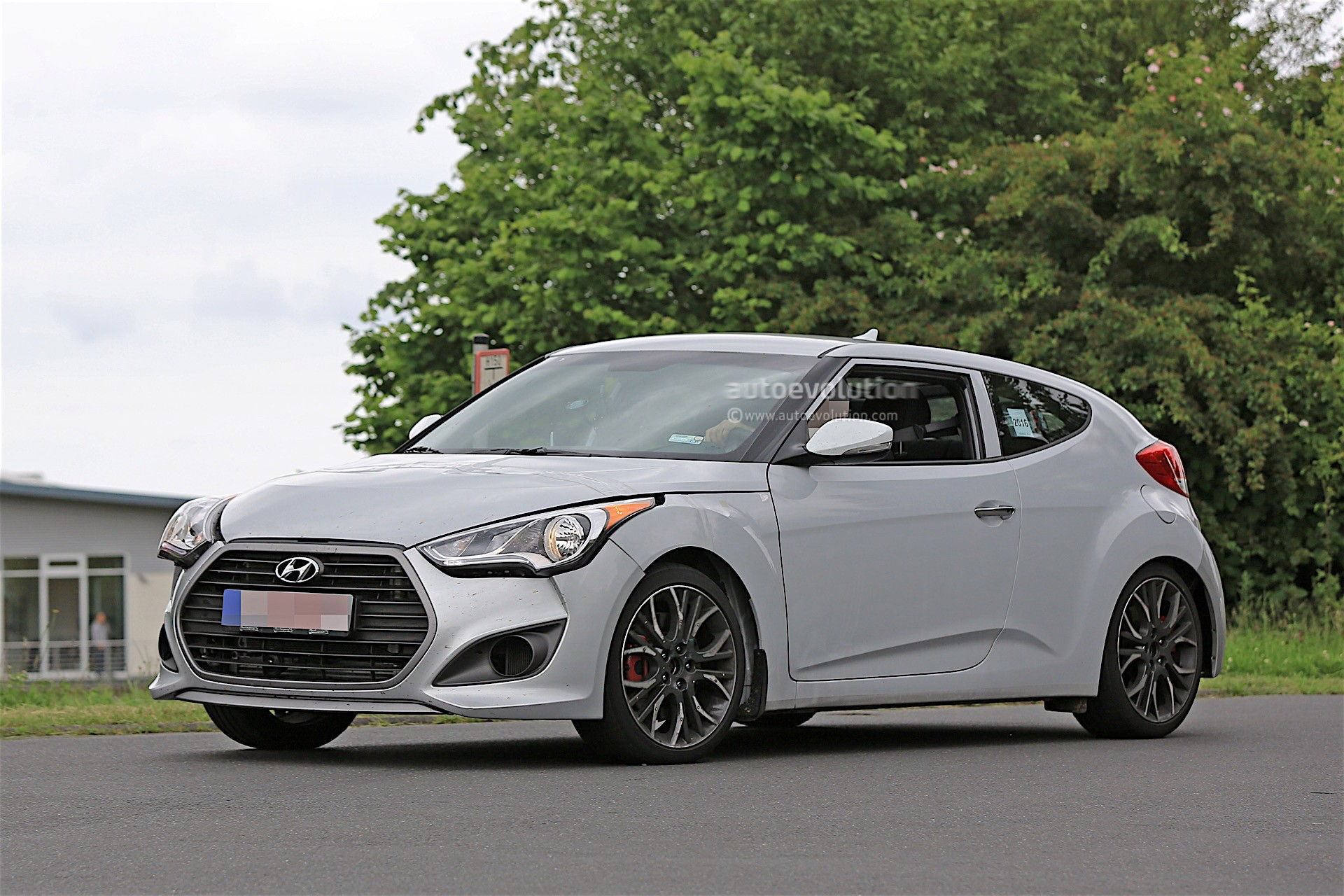 2018 Hyundai Veloster Spied Could Get Independent Rear Suspension