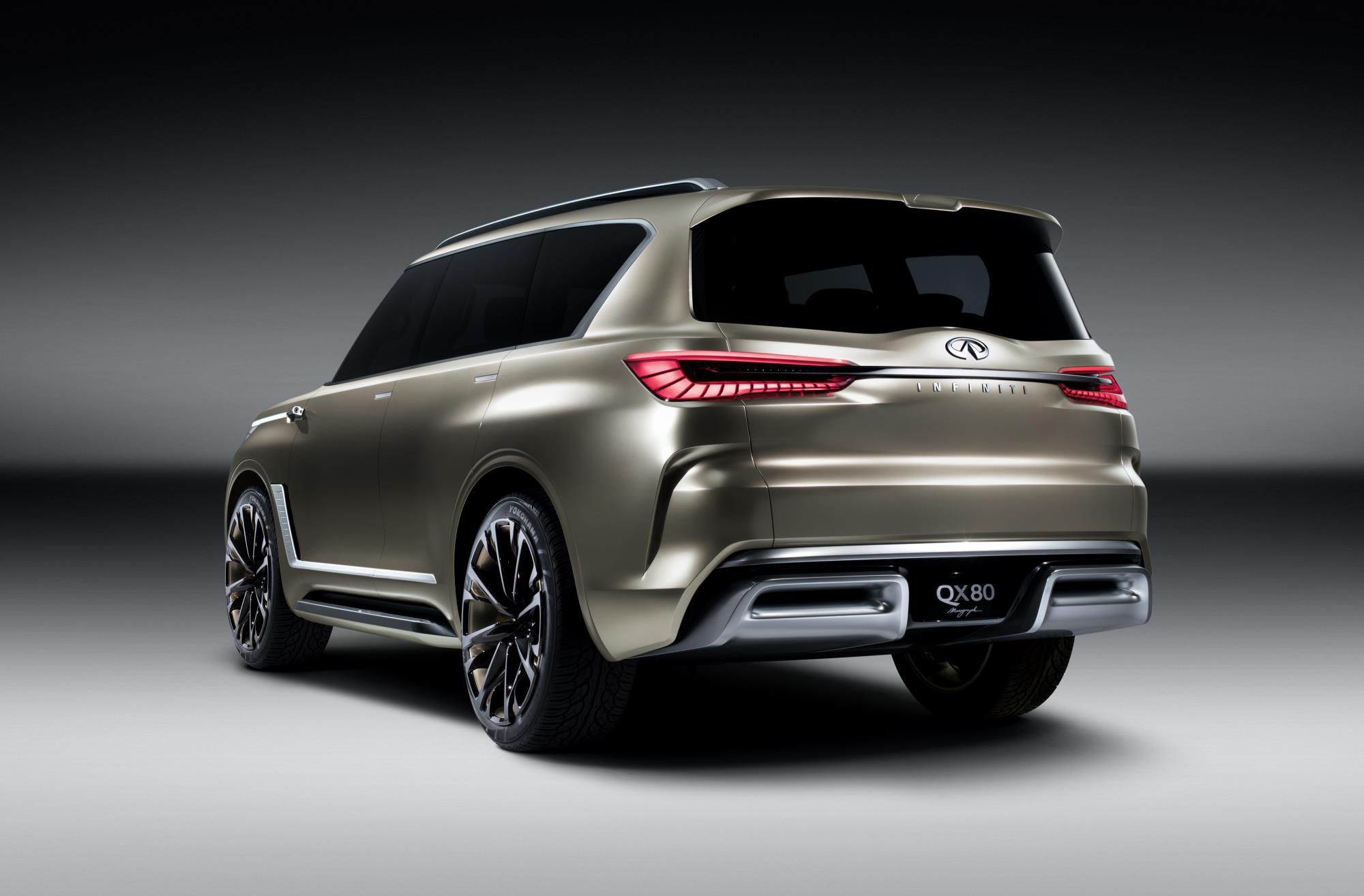2018 infiniti qx80 to get monograph concept styling cues same underpinnings autoevolution. Black Bedroom Furniture Sets. Home Design Ideas
