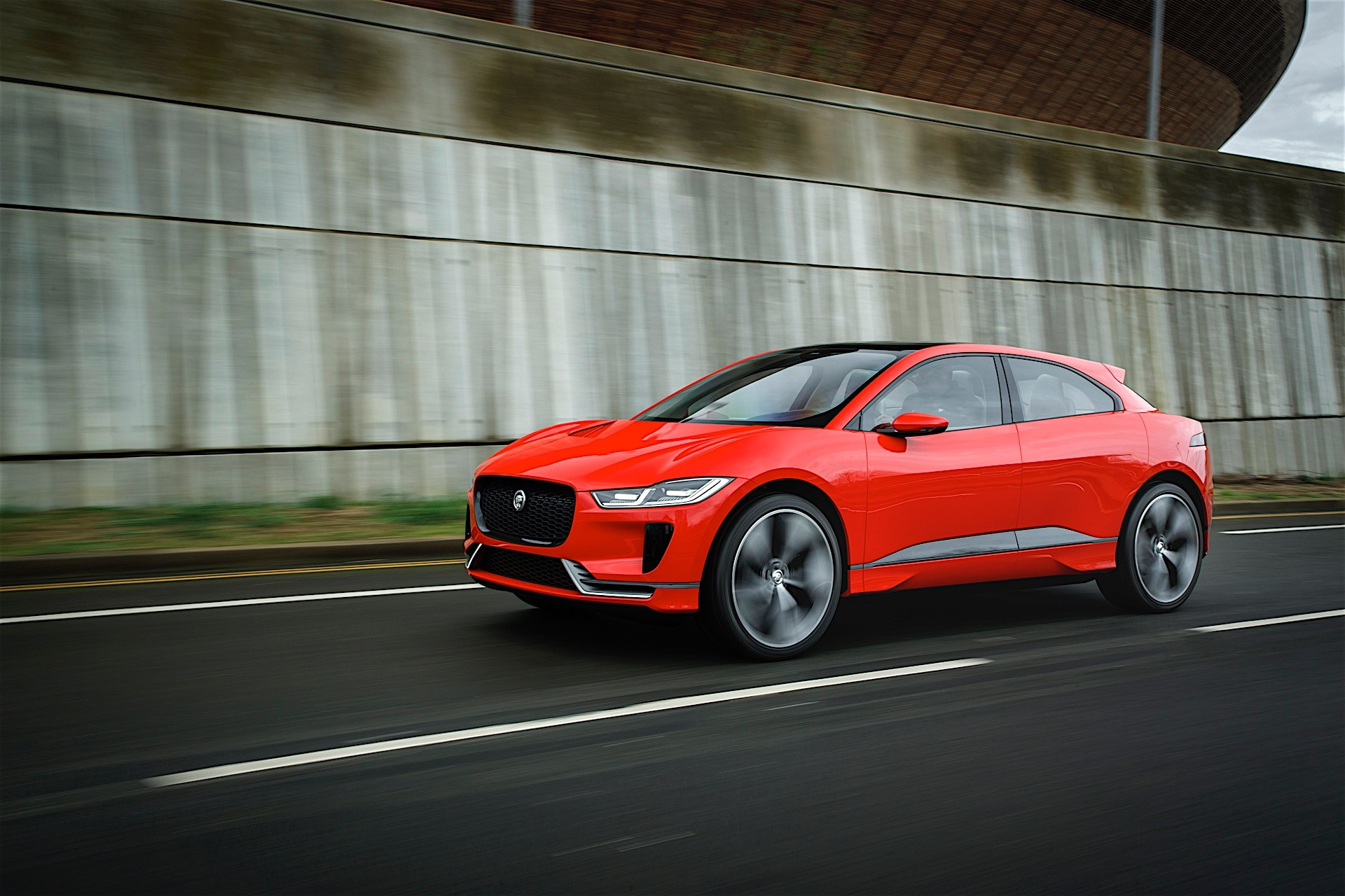 Jaguar I Pace Concept In London ...
