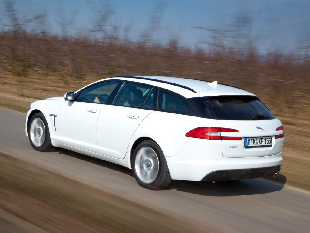 Next Generation Jaguar Xf >> 2018 Jaguar XF S Sportbrake Shows Red Brakes, V6 Growl at Nurburgring - autoevolution