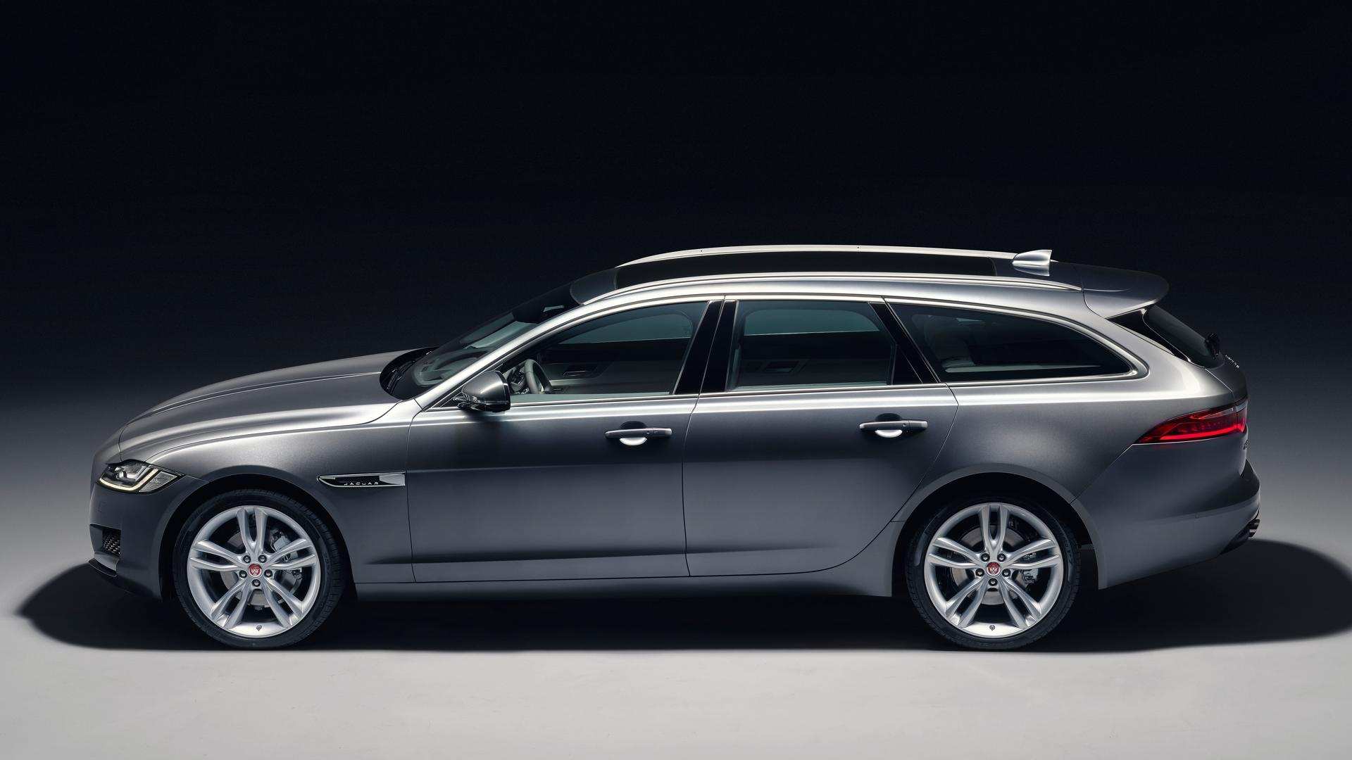2018 jaguar xf sportbrake officially revealed looks stunning autoevolution. Black Bedroom Furniture Sets. Home Design Ideas