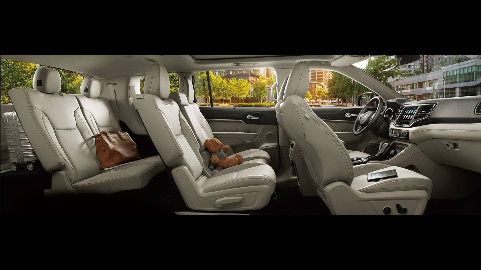 Jeep Commander Interior 2018