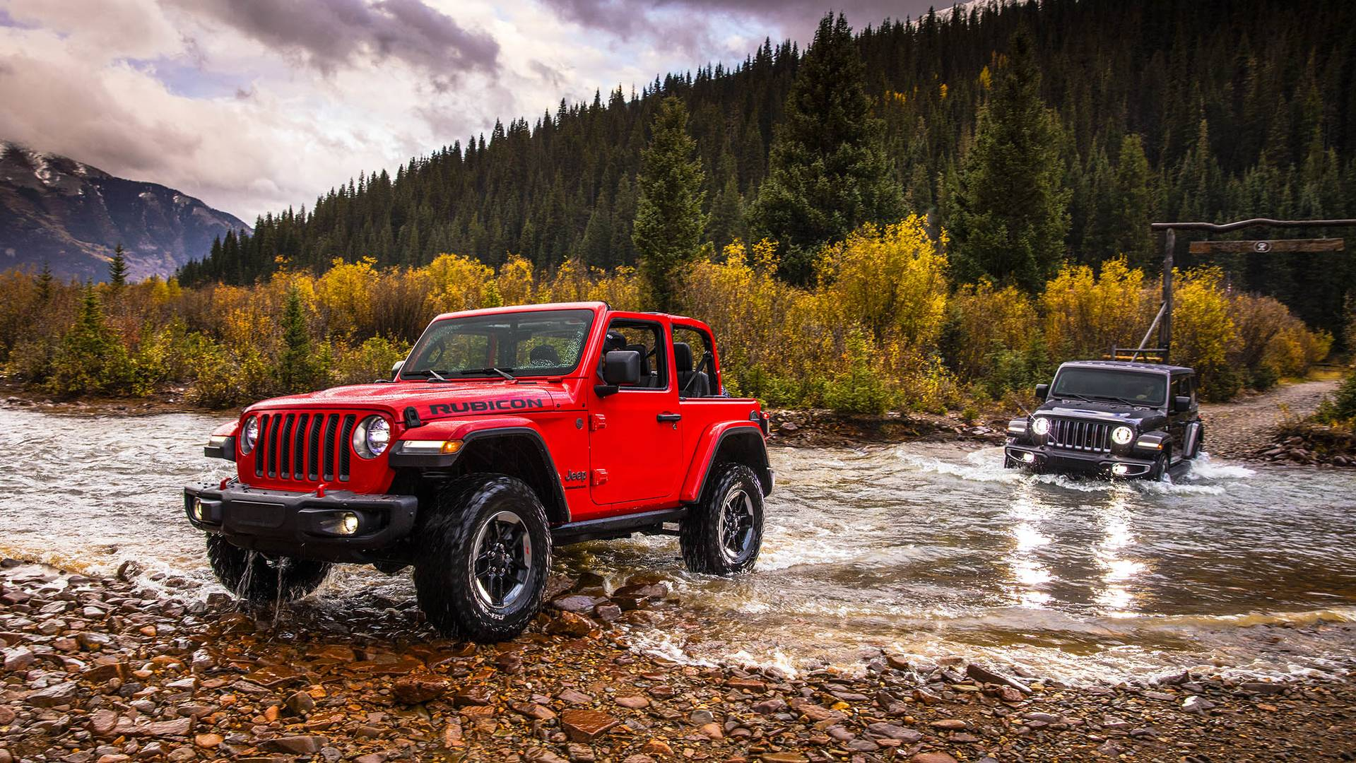2018 jeep wrangler debuts in l a has more of everything autoevolution. Black Bedroom Furniture Sets. Home Design Ideas