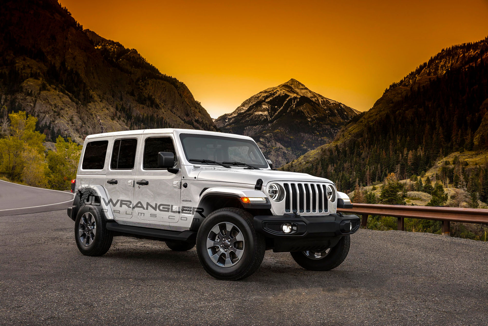 2018 jeep wrangler jl interior revealed with colorful trim and larger display autoevolution. Black Bedroom Furniture Sets. Home Design Ideas