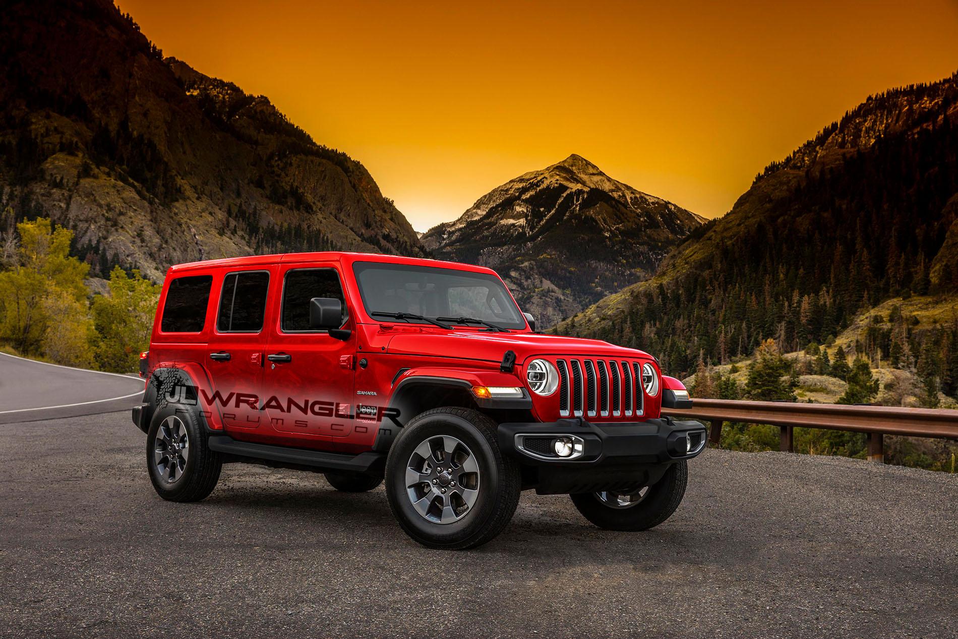 ... 2018 Jeep Wrangler Color Options ...