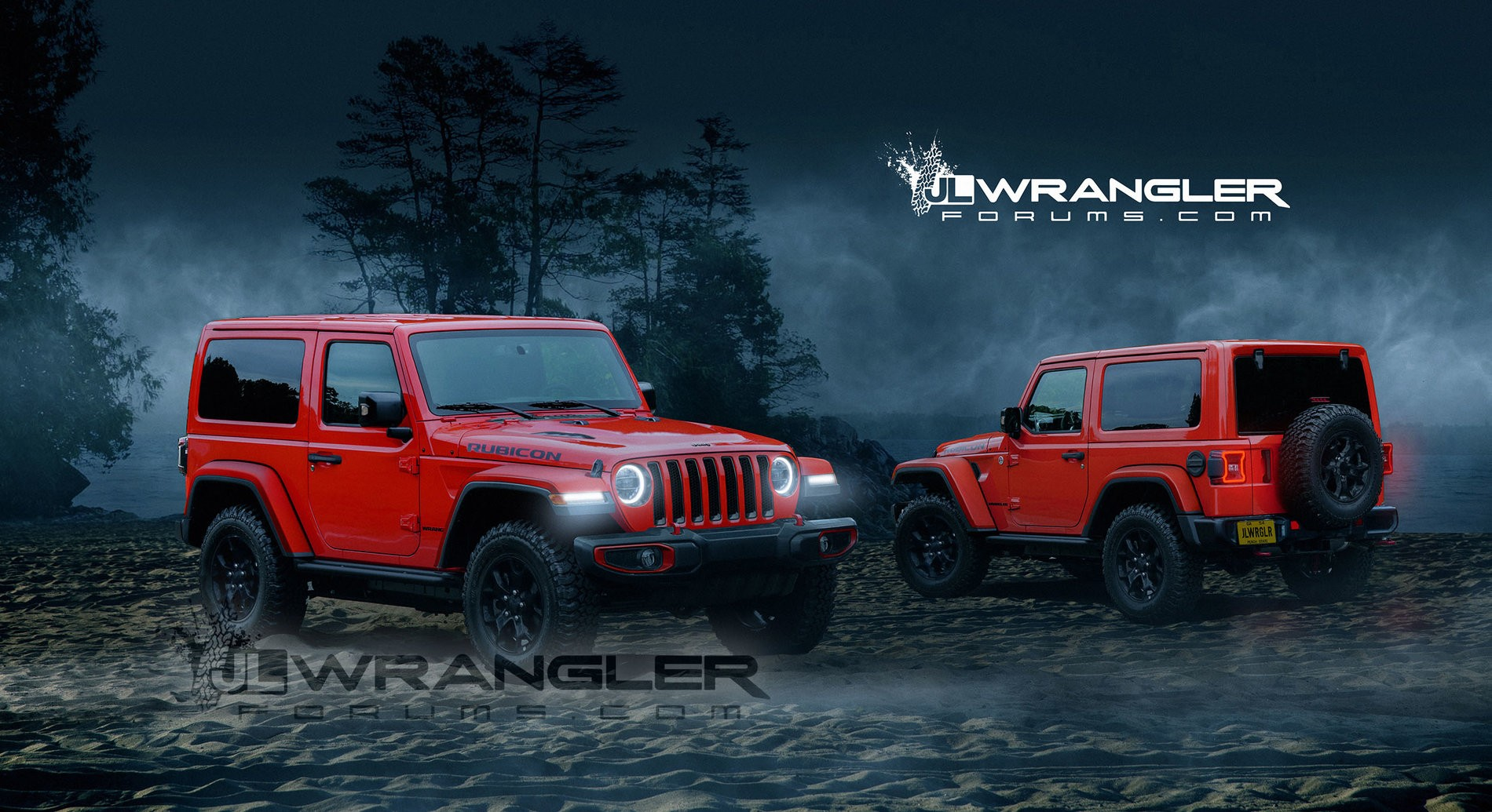 2018 jeep wrangler jl. perfect 2018 2018 jeep wrangler jl rendering based on spy photos with jeep wrangler jl 0