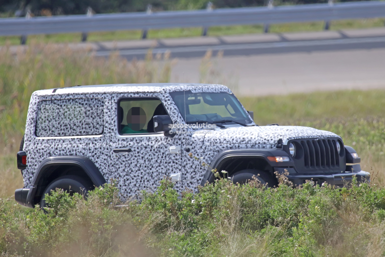 2018 jeep wrangler jl prototype