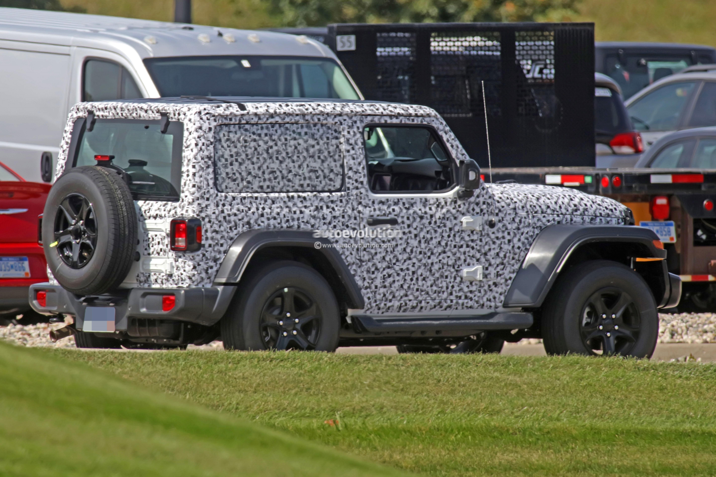 ... 2018 Jeep Wrangler (JL) prototype