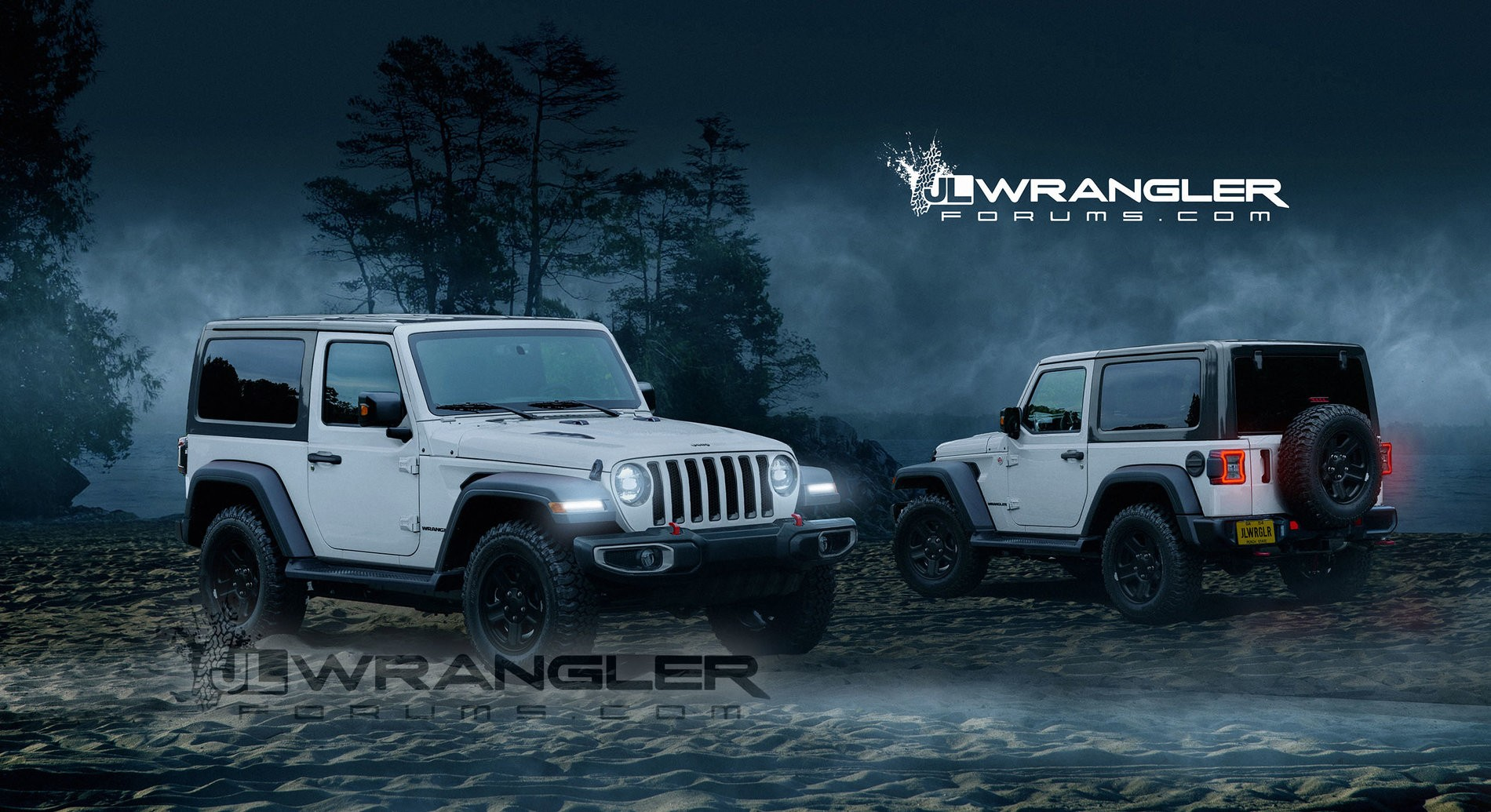 2018 jeep wrangler jl rendering based on spy photos