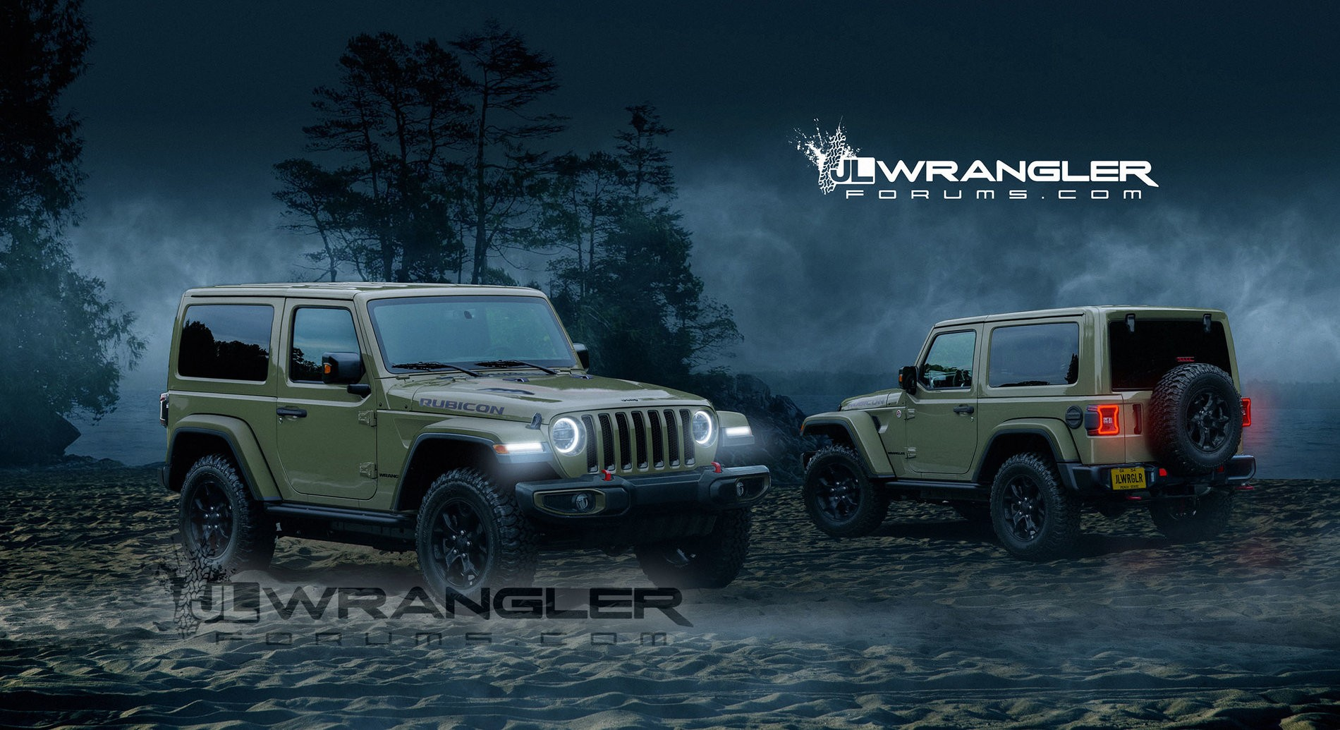 2018 jeep 2 0 turbo. simple turbo 20liter hurricane turbo engine 2018 jeep wrangler jl rendering  based on spy photos and jeep 2 0