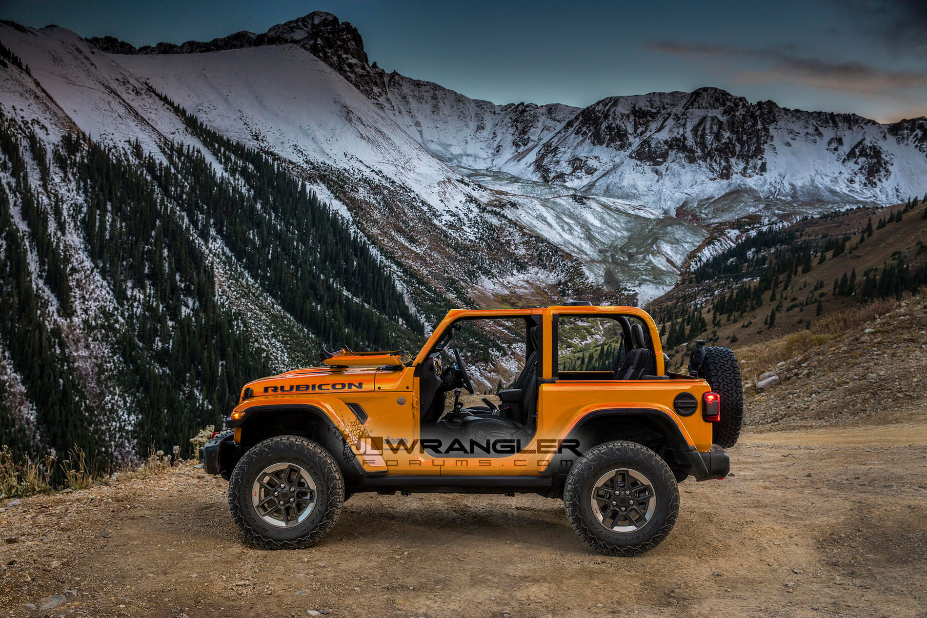 2018 Jeep Wrangler Leaked Color Options Include Quot Punk N