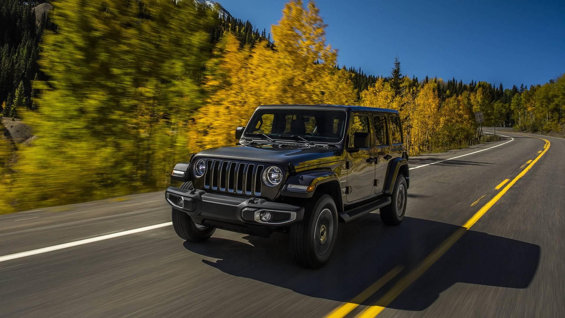 2018 Jeep Wrangler Price List: JL Starts At $26,995, JLU ...