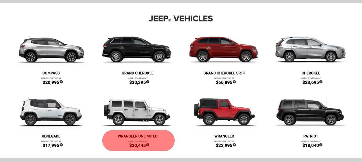 Fuel Economy On 2018 Jeep Wrangler Unlimited Jlu Starting Price