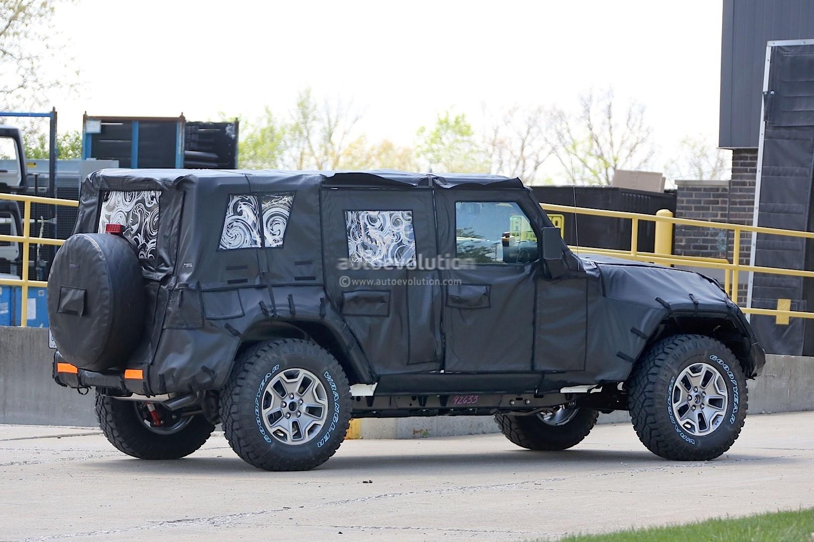 2018 Jeep Wrangler Jl Spied Shows New Hardware
