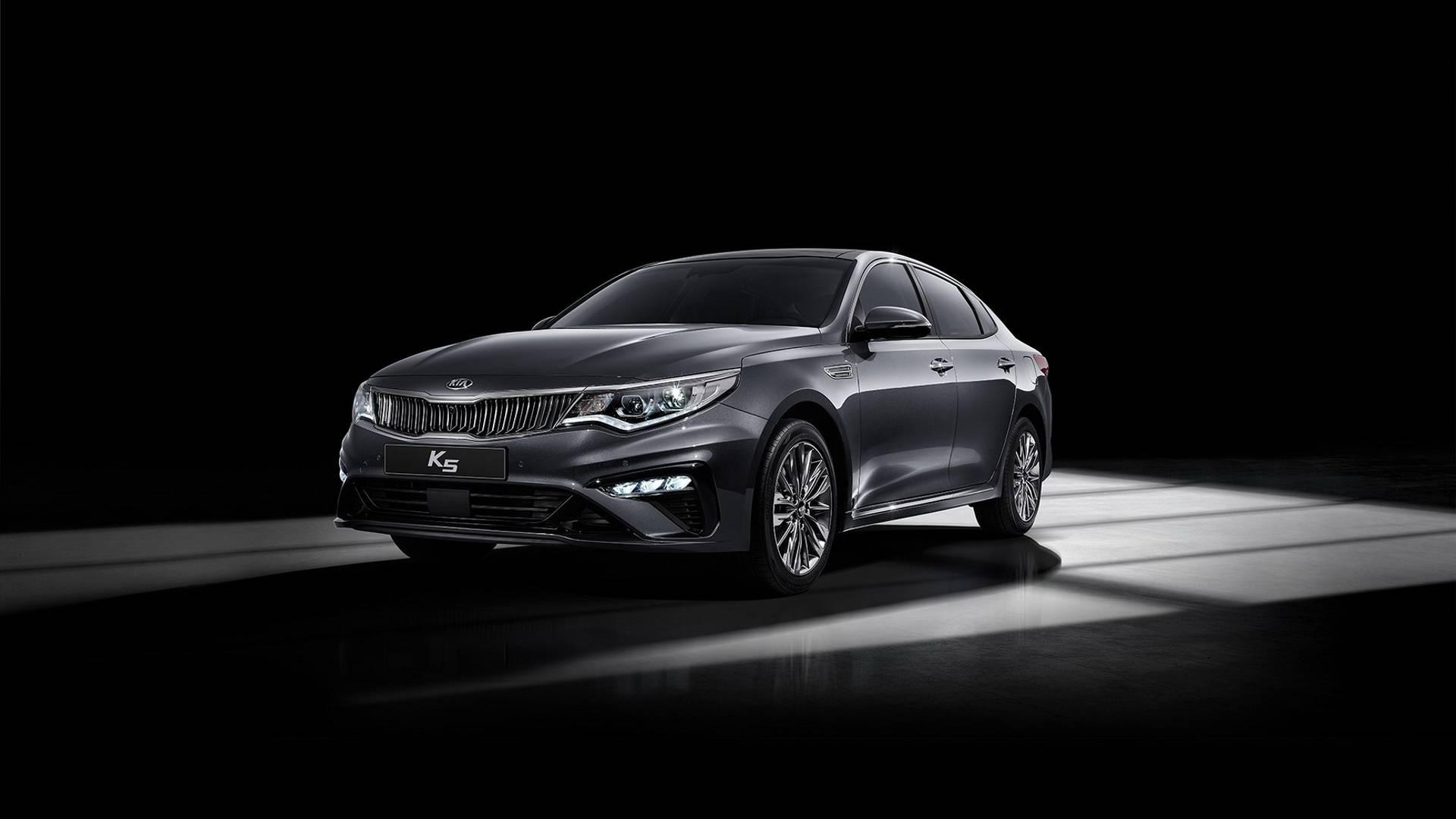 2019 Kia Optima Facelift Says Hello In South Korea