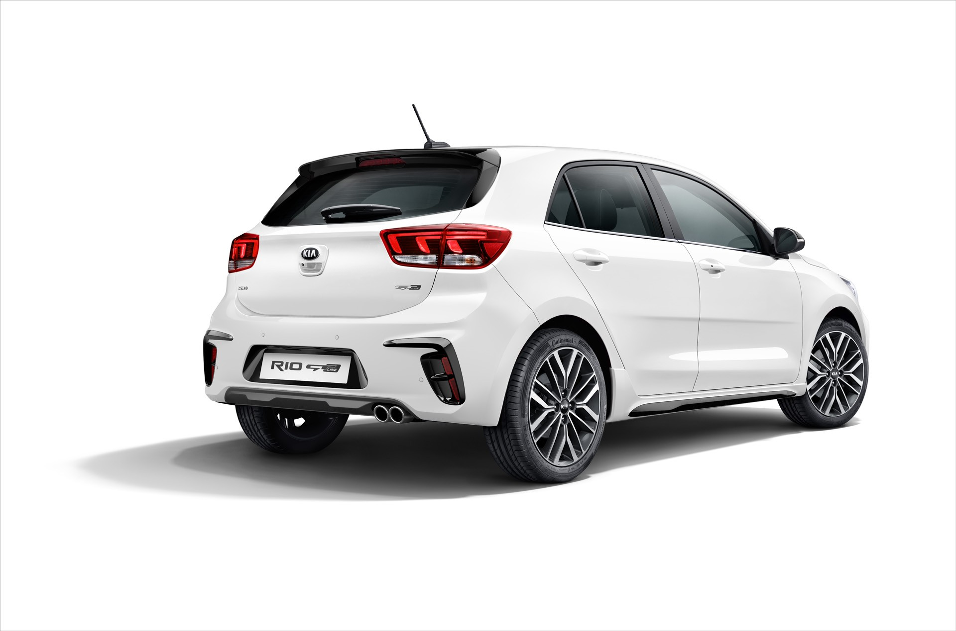 2018 kia rio gt line looks like a pocket sized hot hatchback but isn 39 t one autoevolution. Black Bedroom Furniture Sets. Home Design Ideas