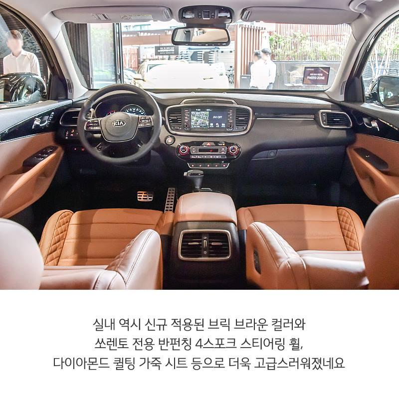 2018 Kia Sorento Exterior: 2018 Kia Sorento Facelift With Cadenza Styling Revealed In