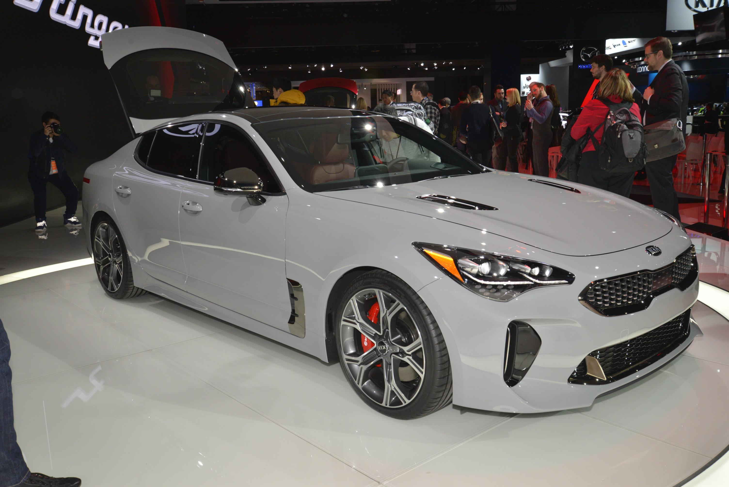 gt stinger kia front motion cars car stung review trend first test sports in exclusive well view side motor